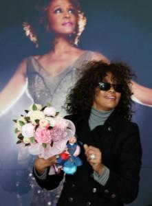 Whitney Houston Arrives South Korea