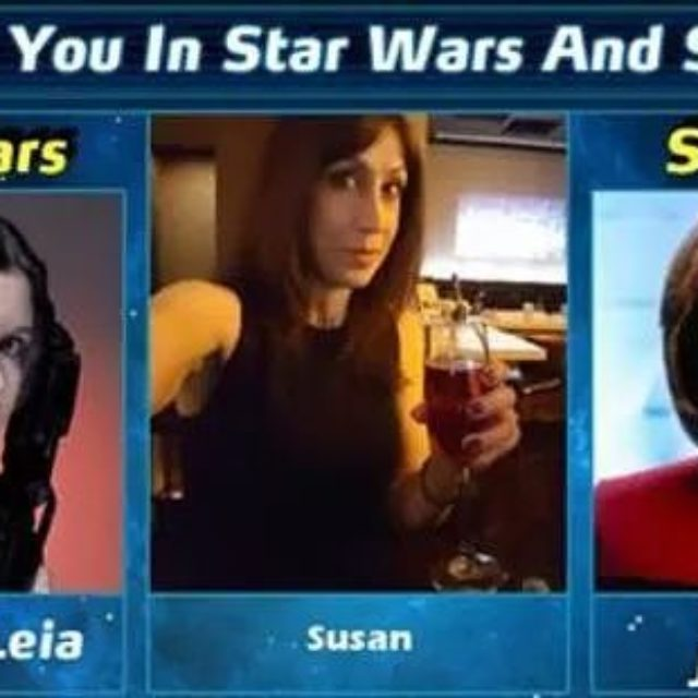 According to Facebook I am Princess Leia in StarWars amphellip