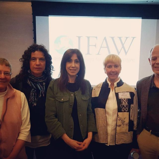 Susan at IFAW International Fund for Animal Welfare event inhellip