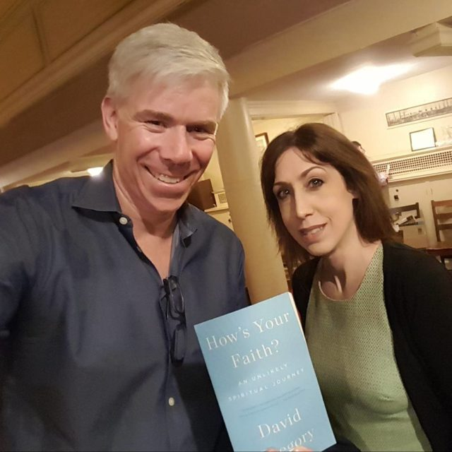 Great event with DavidGregory at Romemu talking about his bookhellip
