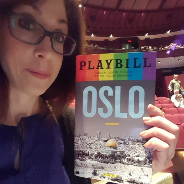 Oslo was excellent! See it! lincolncenter broadway broadwayshow nyc