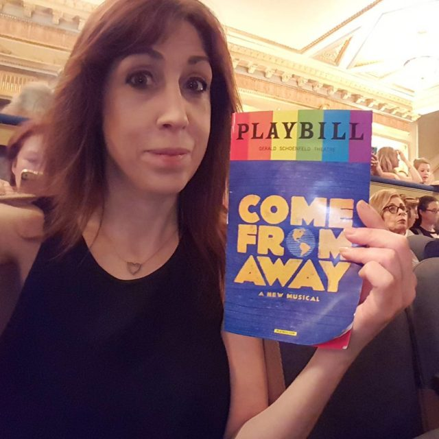 ComeFromAway! Awesome See it! broadwayshow broadway newyork nyc schoenfeldtheatre
