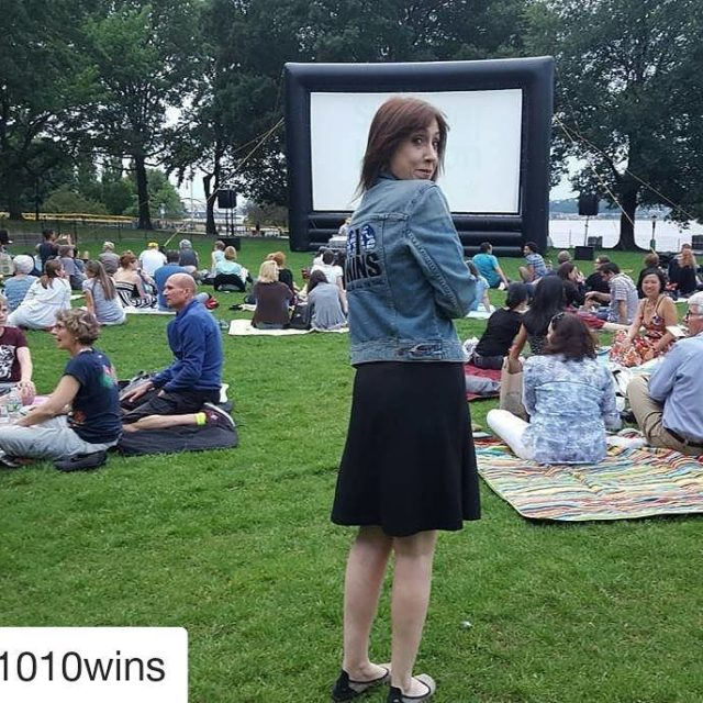 Repost 1010wins getrepost  Great time at SummerOnTheHudson screening ofhellip