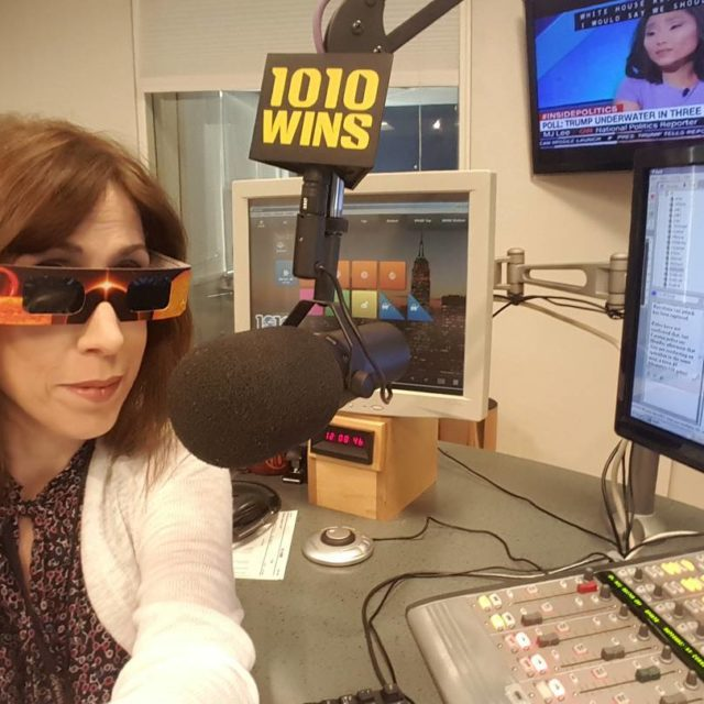 Ready for the eclipse at 1010 WINS! eclipse solareclipse 1010WINS