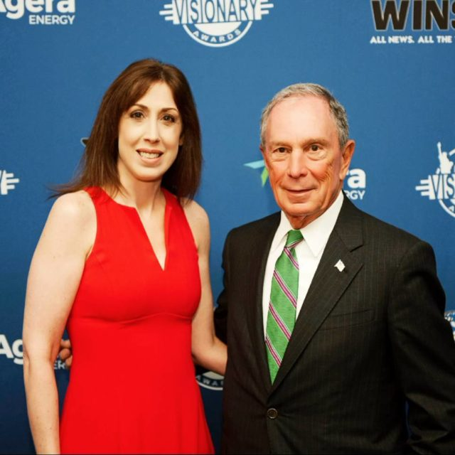With former NYC Mayor Mike Bloomberg at 1010WINS VisionaryAwards! mikebloomberghellip
