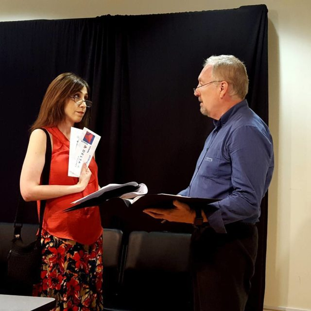 balproductions reading of Genesis by Thomas Pierce with Mark Petershellip