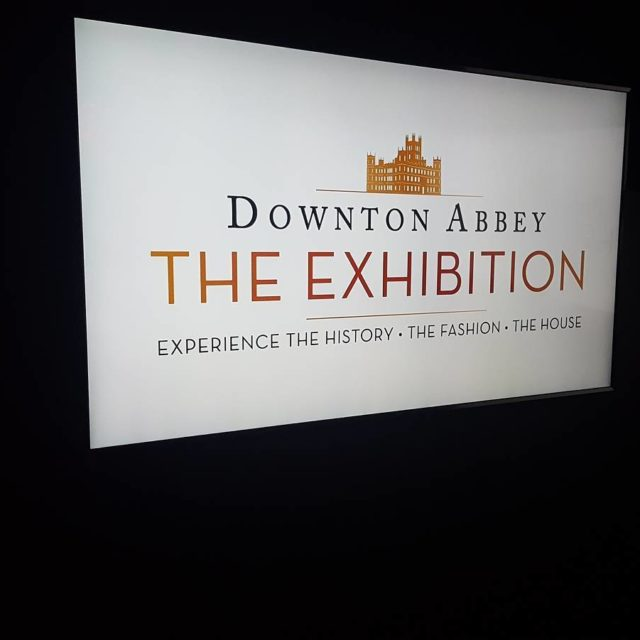 DowntonAbbey exhibit in NYC! Awesome!