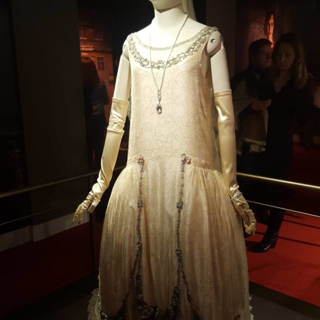 Amazing costumes at the DowntonAbbey exhibit in NYC! downtonabbeyofficial