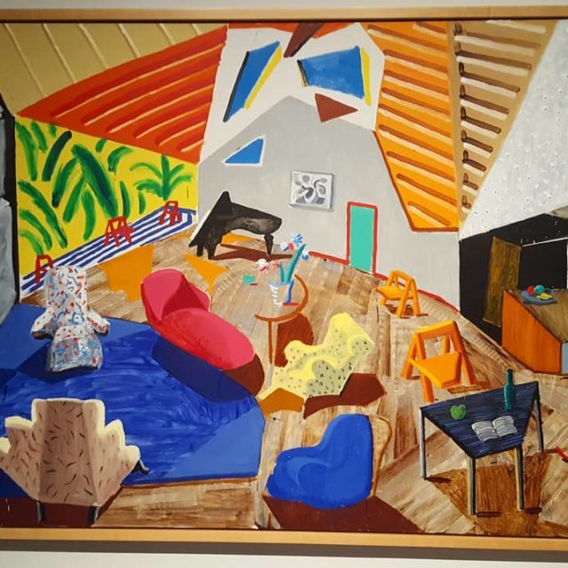 Love this David Hockney painting