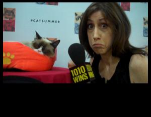 Susan & Grumpy Cat!