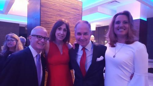 1010 WINS Visionary Awards - Lee Harris, Susan Richard, Dan Taylor Bridget Quinn