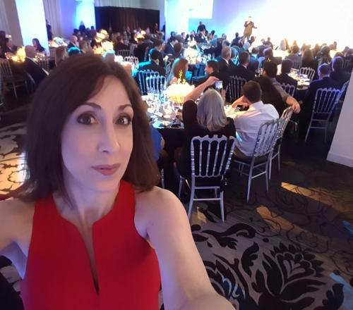Visionary Award Selfie