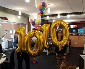 fun in the newsroom