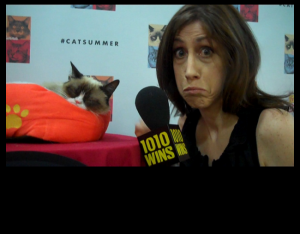 susan and grumpy cat