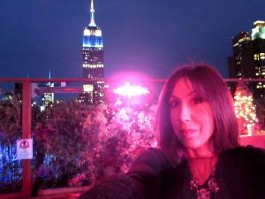 susan and the empire state building